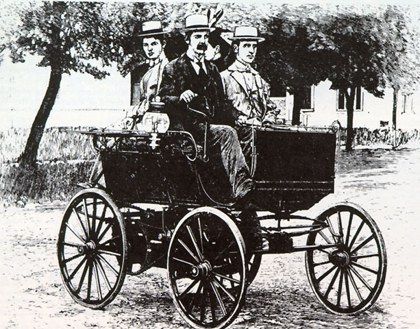 Whatv Kind Of Car Was Invented In The  S